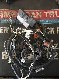 wiring harnesses new and used parts american truck chrome used engine wiring harness for a detroit series 60 engine