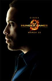 the hunger games character poster cinna