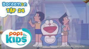 Doraemon Tập 24 - Lệnh Truy Nã Nobita, Máy Tạo Không Gian 3 Chiều - Hoạt  Hình Tiếng Việt - Phương