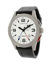 <b>Часы Momentum</b> Vortech GMT Luminous (каучук)