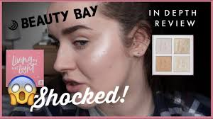 Beauty Bay Living My Best Light Highlight Palette In Brilliance Beautybay Highlight Palette Review Living My Best Light Delicate Holly Maddison