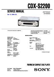 sony cdx gt550 wiring diagram sony image wiring sony cdx gt50w gt500 gt500ee gt550 service manual on sony cdx gt550 wiring diagram