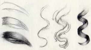 วธการวาดทรงผม สตรสากลของศลปน วธการวาดผมจรงดวยดนสอ