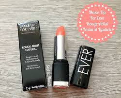 make up for ever rouge artist natural lipstick in n41 watermelon