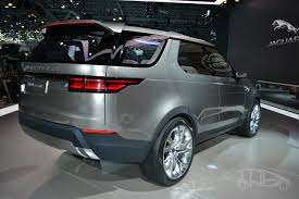 Land Rover Discovery Vision concept at 2014 NY auto show rear ...