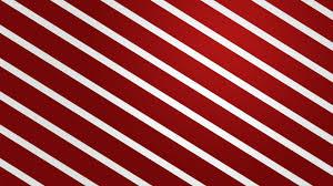 Red And White Striped Wallpaper