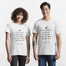 """Jamie Lee Curtis famous quote about happiness"""" T-shirt by Joseph-Stevens 
