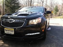 Amazon.com: 2011-2013 Chevy Cruze LED Long Chrome Fog Daytime ...