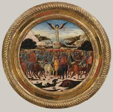 the triumph of fame reverse impresa of the medici family and arms of