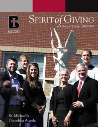 Spirit of Giving, Fall 2013 by Benedictine College - issuu