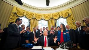 oval office picture. President Donald Trump Is Quickly Becoming Known For Taking Group Shots In The Oval Office. Office Picture