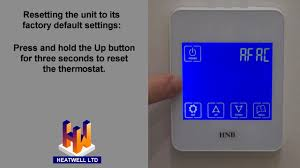 hnb tx 928h touch screen thermostat