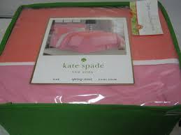 Kate Spade Duvet Cover New Kate Spade New York Spring Street King Duvet Cover Orange