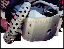 honda cr parts ricochet aluminum skid plate for honda cr500 1990 2001 part 433