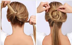 Hairstyle Easy Step By Step 10 easy wedding updo hairstyles with steps everafterguide 6659 by stevesalt.us