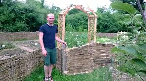 Kitchen Garden Fence Mass Renaissance Center Garden Project In Partnership With The