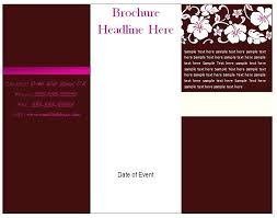What Is A Pamphlet Sample Pamphlet Layout Template Brochure Vector Rightarrow Template Database