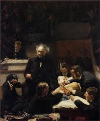 thomas eakins american 1844 1916 the gross clinic 1875 philadelphia museum of