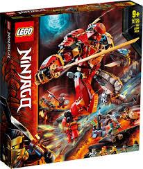 LEGO® NINJAGO 71720 Fire Stone Mech – Build and Play Australia