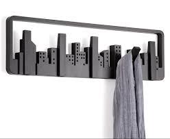 Unique Wall Coat Rack new European creative wall hooks hangers coat rack Scalable coathook 58