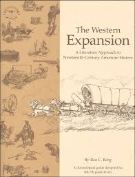 western expansion study guide details rainbow resource  western expansion study guide main photo cover