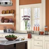 benjamin moore paint colorOrange Kitchen Ideas  Warm Balanced Kitchen Space  Paint Color