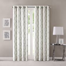 Geometric Patterned Curtains Geometric Pattern Drapes Shop Curtains Drapes At Lowes Decor