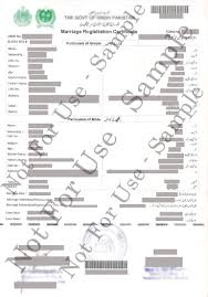 Procedure To Get Pakistani Nadra Marriage Certificate