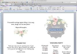wedding reception program templates free download printable flower garden wedding program the budget savvy bride