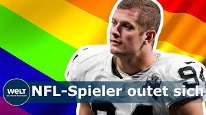 COMING OUT: NFL-Spieler Carl Nassib outet sich als schwul - YouTube