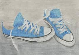 converse shoes drawing. blue converse | teen pastel about objects, teens, converse, drawing, shoe, shoe and shoes drawing