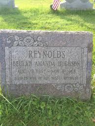 Beulah Amanda Hughson Reynolds (1892-1968) - Find A Grave Memorial