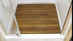 teak shower matsquality teakteak mat largeteak wood floorteak youtube teak shower mat94