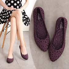 Giày búp bê nữ thời trang thoáng mát cho ngày mưa 300