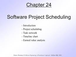 Software Project Scheduling Introduction Project
