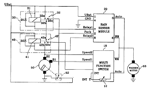 patent us windshield wiper system activated by sensing patent drawing