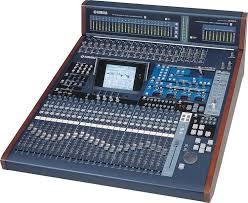 yamaha mixer. yamaha 02r96vcm 56-channel 8-bus digital mixer image 1 f