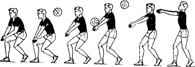 Техника приёма мяча в волейболе прием снизу
