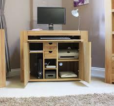 home office hideaway. Opus Solid Oak Hideaway Computer Desk Furniture Uk Hide Away Home Office