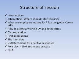 Star Interview Techniques Cv Interview Preparation Belvedere College Sj Structure Of
