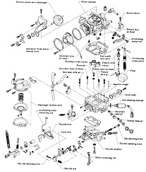 1993 nissan sentra engine diagram unique repair guides carbureted fuel systems carburetor