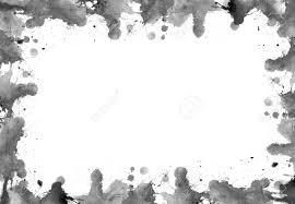 しみと水彩絵の具から水しぶきのフレーム