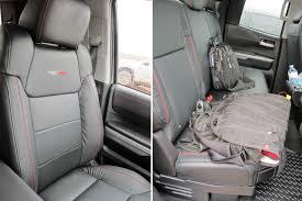 toyota tundra seat covers tundra trd pro leather seats