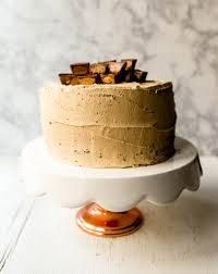 Light Peanut Butter Cake Chocolate Cake With Peanut Butter Frosting