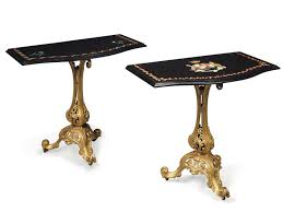 iron console table. Pair Of Victorian Gilt Cast-iron Console Tables With Marble Tops Iron Table I