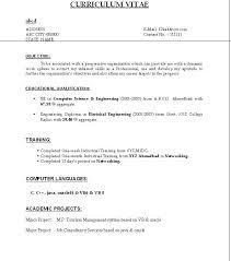 Sample Resume Using Code Template Free