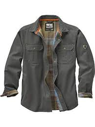 Legendary Whitetails Clothing Size Chart Legendary Whitetails Mens Journeyman Flannel Lined Rugged Shirt Jacket Select Color