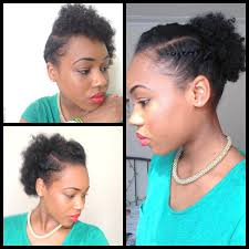 Photo Gallery Of Quick Updos For Short Black Hair Viewing 3 Of 15