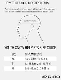 Giro Crue Mips Kids Snow Helmet Matte Blue Sm 52 55 5cm