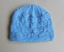 Free Knitting Patterns For Baby Hats Simple Design